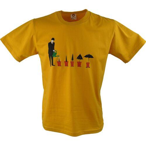 Guru-Shop T-Shirt »Fun T-Shirt - Wachstum«, Wachstum M