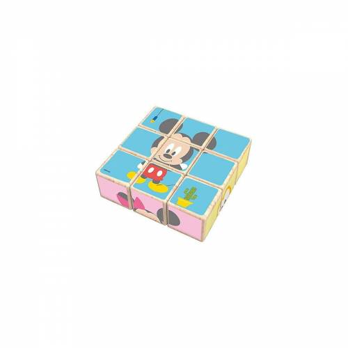 Disney Mickey Mouse Puzzle »Mickey Mouse Block Puzzle«, Puzzleteile