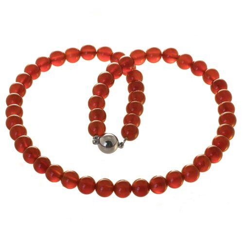 Bella Carina Perlenkette »Karneol 8 mm«, Karneol 8 mm 42 mm;45 mm;50 cm;55 cm;60 cm