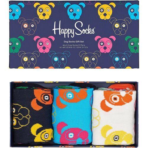 Happy Socks Socken »3-pack Mixed Dog Socks Gift Set Socken« 36-40;41-46