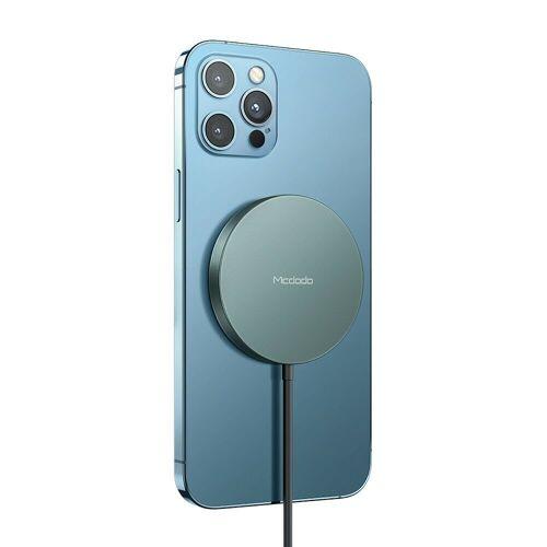 mcdodo »Mag Safe 15W Magnetische Fast Charging Charger Pad Handy-Ladegerät kompatibel mit iPhone 12, iPhone 12 Pro, iPhone 12 Pro Max« Wireless Charger