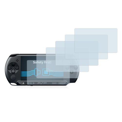 Savvies Schutzfolie »für Sony PSP 1004«, (6 Stück), Folie Schutzfolie klar
