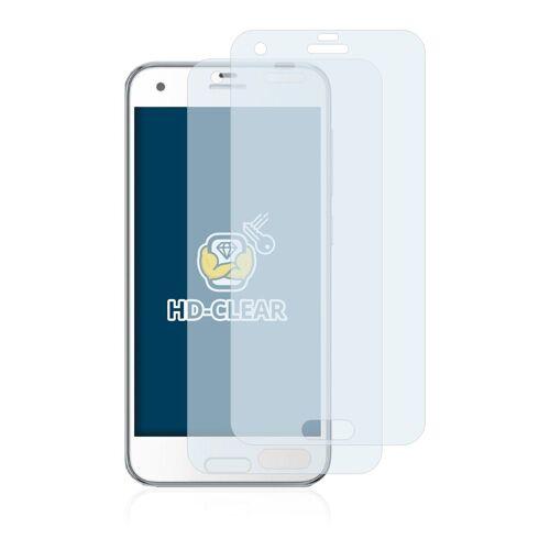 BROTECT Schutzfolie »für HTC One A9s«, (2 Stück), Folie Schutzfolie klar