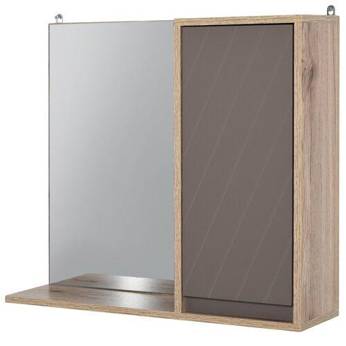 HOMCOM Spiegelschrank »Spiegelschrank mit Ablage«