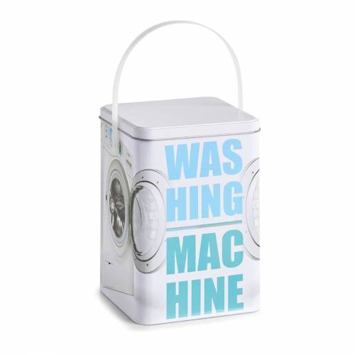 """HTI-Living Aufbewahrungsbox »Waschpulver-Box, Metall """"Washing Machine""""«, Aufbewahrungsbox"""