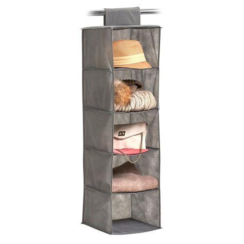 HTI-Living Aufbewahrungsbox »Hänge Aufbewahrung mit Fächern« (1 Stück), Aufbewahrung 18 cm x 105 cm x 30 cm;28 cm x 95 cm x 28 cm