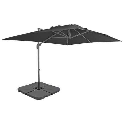vidaXL Sonnenschirm »Sonnenschirm mit Schirmständer Anthrazit«