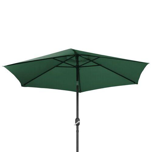 Ribelli Sonnenschirm, Sonnenschirm, dunkel grün, 270 cm, Dunkel Grün
