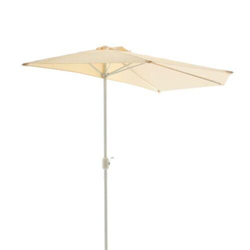 VCM Sonnenschirm »Sonnenschirm, halbrund beige«