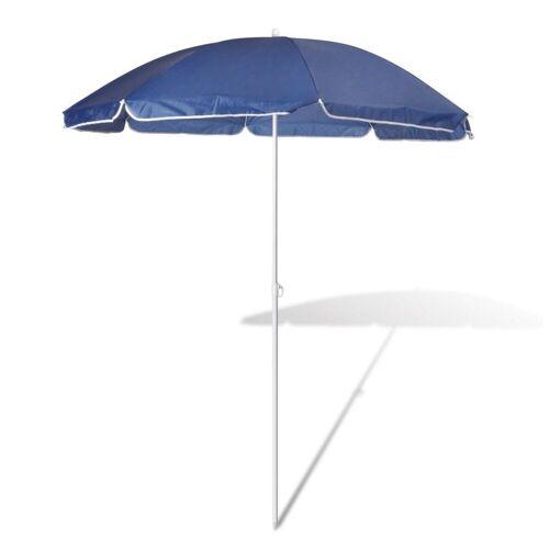 vidaXL Sonnenschirm »180cm Sonnenschirm Strandschirm Schirm blau«