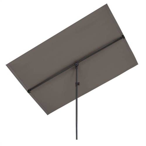 blumfeldt Sonnenschirm »Flex-Shade XL Sonnenschirm 150 x 210 cm Polyester UV 50 dunkelgrau«