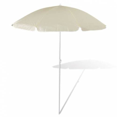 vidaXL Sonnenschirm »180cm Sonnenschirm Strandschirm Schirm sandfarbe«