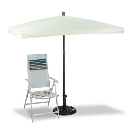 relaxdays Sonnenschirm »Sonnenschirm rechteckig 200 x 120 cm«
