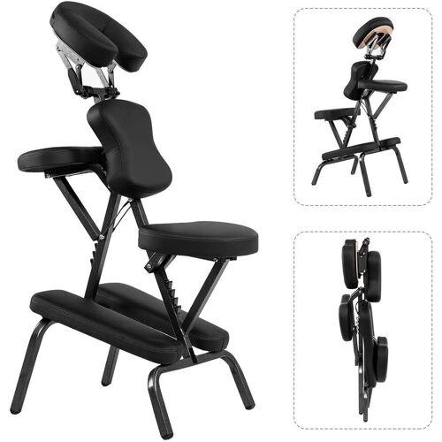 COSTWAY Massagesessel »Tattoostuhl Therapiestuhl Klappmassagestuhl«, mit Tragetasche, tragbar & klappbar