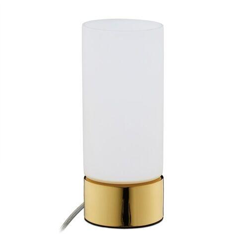 relaxdays Nachttischlampe »Nachttischlampe Touch«