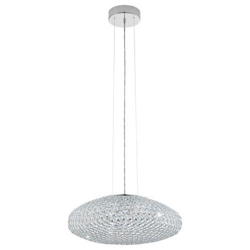 click-licht Hängeleuchte »Pendelleuchte mit Glaskristallen, 540mm«, Hängeleuchte, Pendellampe, Pendelleuchte