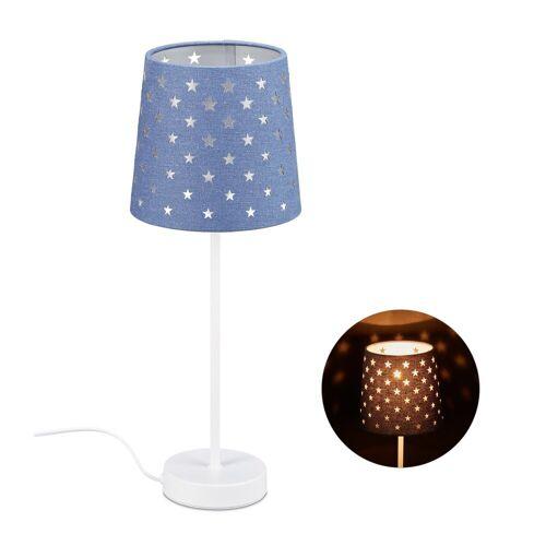 relaxdays Nachttischlampe »Nachttischlampe Kinder«