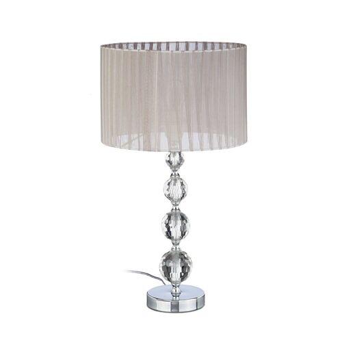 relaxdays Nachttischlampe »Nachttischlampe Kristall«