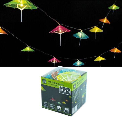 HTI-Living LED-Lichterkette »LED Lichterkette bunt Sonnenschirm«