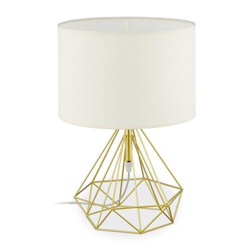relaxdays Nachttischlampe »Nachttischlampe Draht«