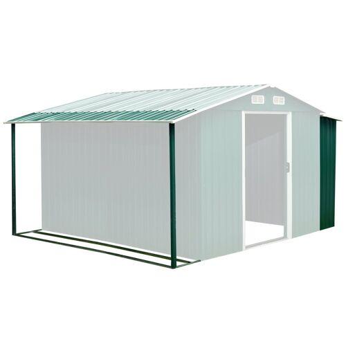 BBQ-Toro Gerätehaus »Zelsius Gerätehausanbau 303 x 156/146 x 42 cm, grün, passend für GEHA4«