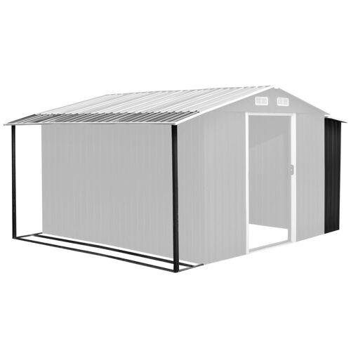 BBQ-Toro Gerätehaus »Zelsius Gerätehausanbau 303 x 156/146 x 42 cm, anthrazit, für GEHA4s«