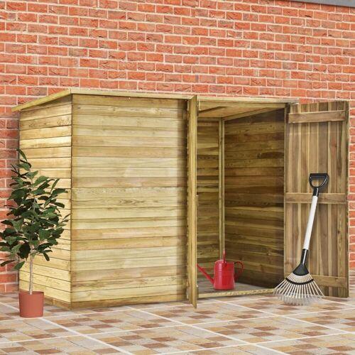 vidaXL Gerätehaus »Garten-Gerätehaus 232 x 110 x 170 cm Kiefernholz Imprägniert«