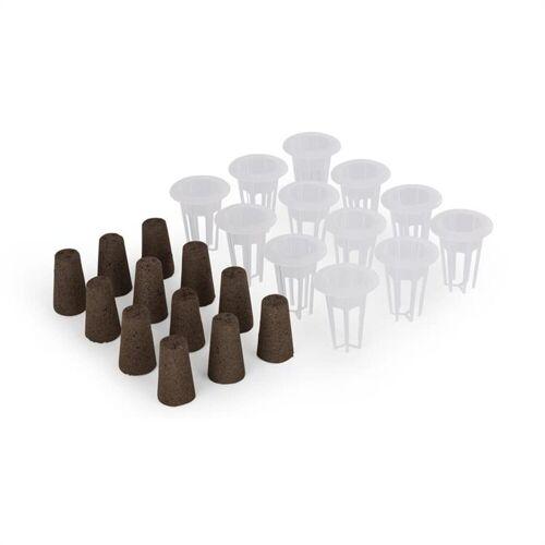 blumfeldt Kräutertopf »Urban Bamboo reFresh Kit Hydroponisches Pflanzsystem Zubehör-Set«