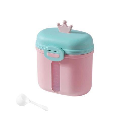 kueatily Aufbewahrungsbox »Tragbares Milchpulver, Babymilchpulverbehälter, Milchpulverspender, BPA-frei, Milchpulveraufbewahrung, Milchpulverportionierer, Babymilchpulverdose«, Rosa