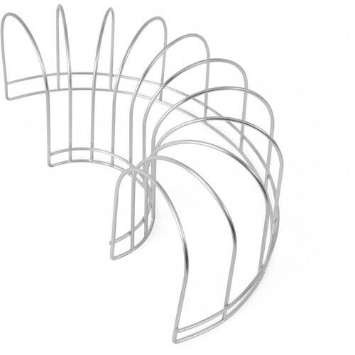 OYOY Geschirrständer »Dish Drainer Abtropfgestell«, Zubehör für Abtropfmatte Dish Tray, Spülgestell Skandinavisches Design Geschirrhalter, Silber