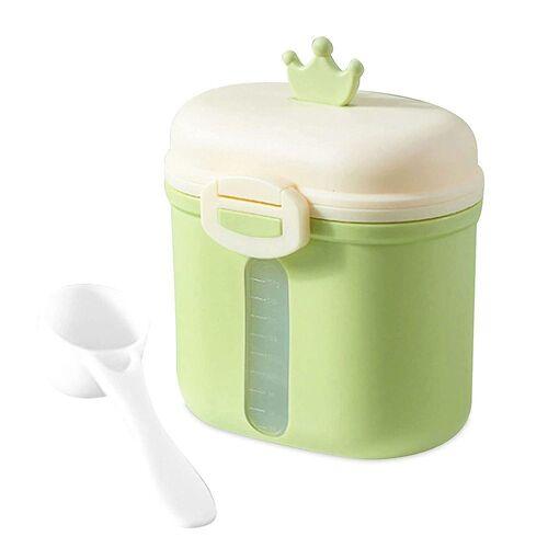 kueatily Aufbewahrungsbox »Tragbares Milchpulver, Babymilchpulverbehälter, Milchpulverspender, BPA-frei, Milchpulveraufbewahrung, Milchpulverportionierer, Babymilchpulverdose«, Grün