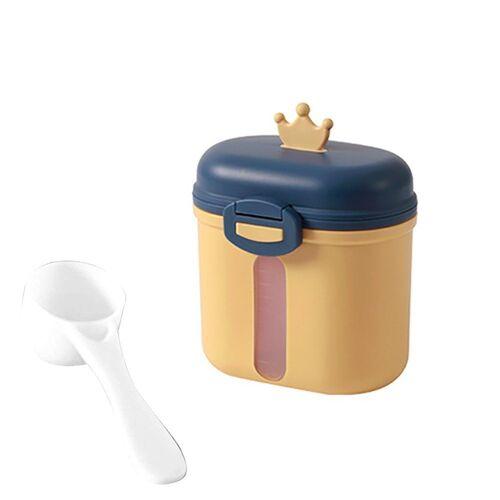 kueatily Aufbewahrungsbox »Tragbares Milchpulver, Babymilchpulverbehälter, Milchpulverspender, BPA-frei, Milchpulveraufbewahrung, Milchpulverportionierer, Babymilchpulverdose«, Gelb