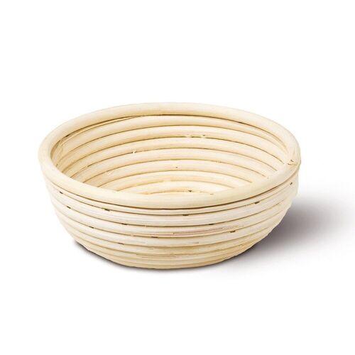 Neustanlo Gärkorb »Gärkörbchen aus Peddigrohr verschiedene Größen«, Rund 18 cm 0,5 kg, Rund 18 cm 0,5 kg Rund