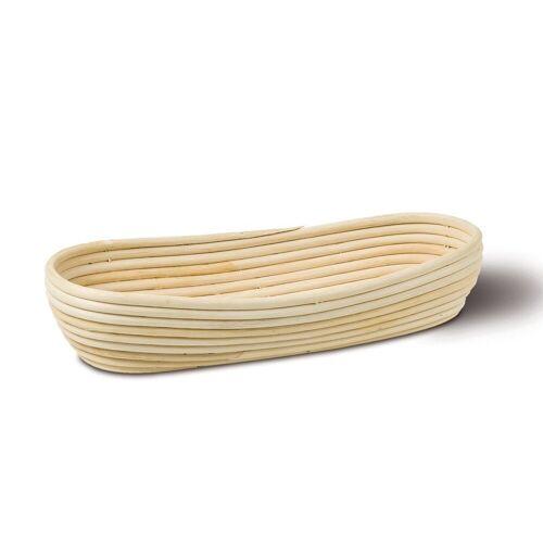 Neustanlo Gärkorb »Gärkörbchen aus Peddigrohr verschiedene Größen«, Oval 37 x 16 cm 1 kg, Oval 37 x 16 cm 1 kg Oval