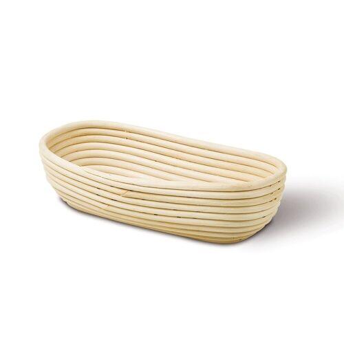Neustanlo Gärkorb »Gärkörbchen aus Peddigrohr verschiedene Größen«, Oval 30,5 x 14 cm 0,5 kg, Oval 30,5 x 14 cm 0,5 kg Oval