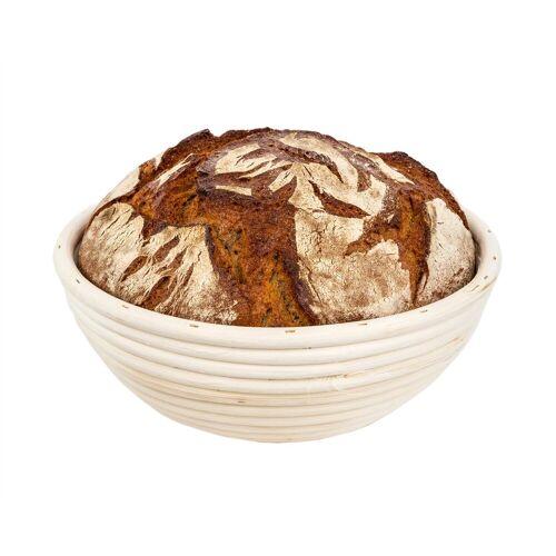 BigDean Gärkorb »rund für Brot−Teig −Brotbackkörbchen, Gärkörbchen« Ø 23 cm;Ø 25 cm