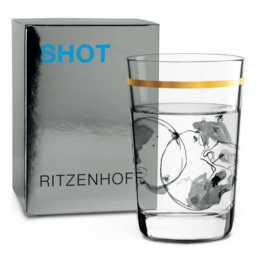 Ritzenhoff Schnapsglas »Next Shot Peter Pichler Schädel 40 ml«, Kristallglas