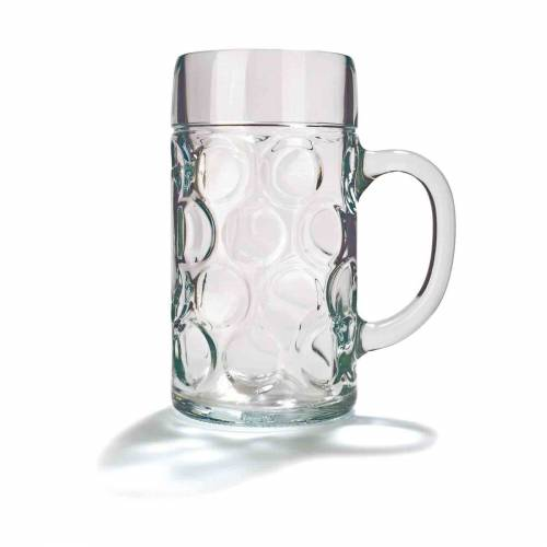 Stölzle Bierkrug »ISAR Maßkrug Bierkrug 1,0 Liter«, Glas