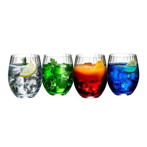 RIEDEL Glas Glas »Mixing Tonic Cocktailbecher Set«, Kristallglas
