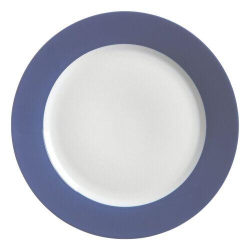 Ritzenhoff & Breker Single Geschirr-Set »Doppio« (4-tlg), Porzellan, blau