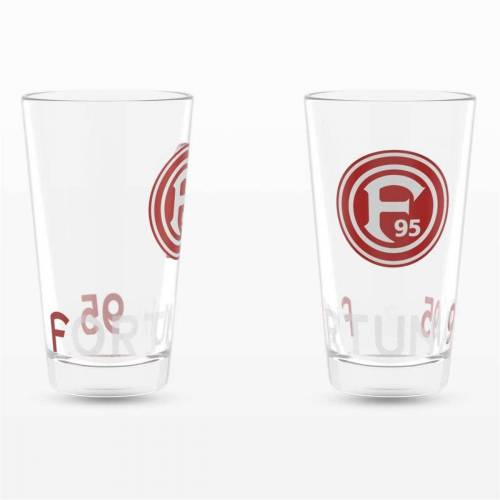 Fortuna Düsseldorf Glas »2-er Set«