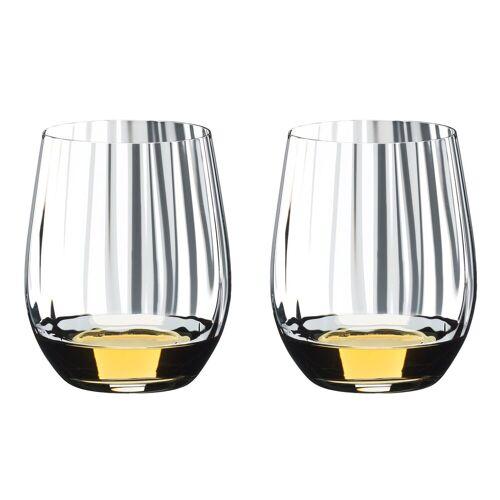 RIEDEL Glas Glas »Riedel Optic Tumbler Whiskey 2er Set«, Kristallglas