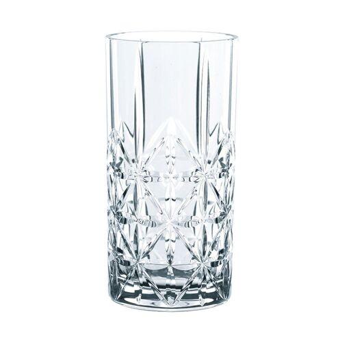 RIEDEL Glas Gläser-Set »Vivant Longdrink 4er Set 375 ml«, Kristallglas