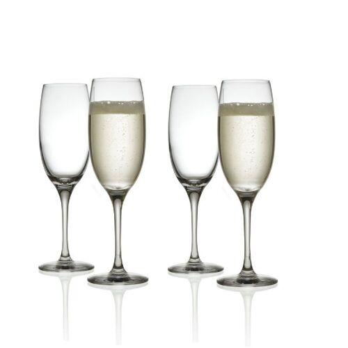 Alessi Sektglas »Sektglas MAMI XL, 4er-Set«, Kristallglas