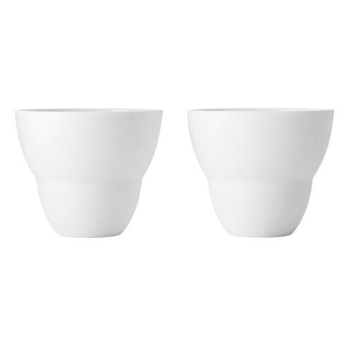 VIPP Tasse »202 Kaffeetasse 2er Set«, weiß
