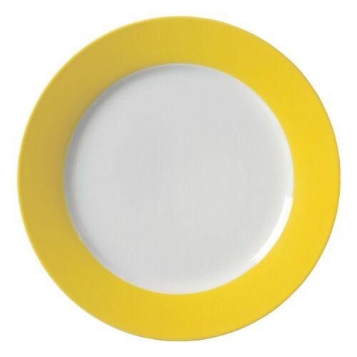 Ritzenhoff & Breker Single Geschirr-Set »Doppio« (4-tlg), Porzellan, gelb