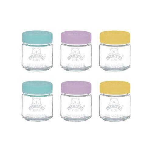 KILNER Gläser-Set, Glas 110 ml;190 ml