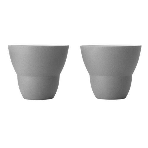 VIPP Tasse »202 Kaffeetasse 2er Set«, grau