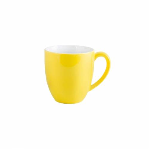 Kahla Tasse »Kaffeebecher XL Pronto Colore«, Porzellan, Zitronengelb