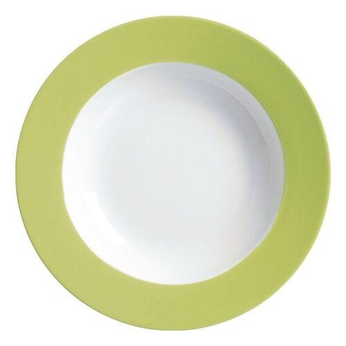 Ritzenhoff & Breker Single Geschirr-Set »Doppio« (4-tlg), Porzellan, grün
